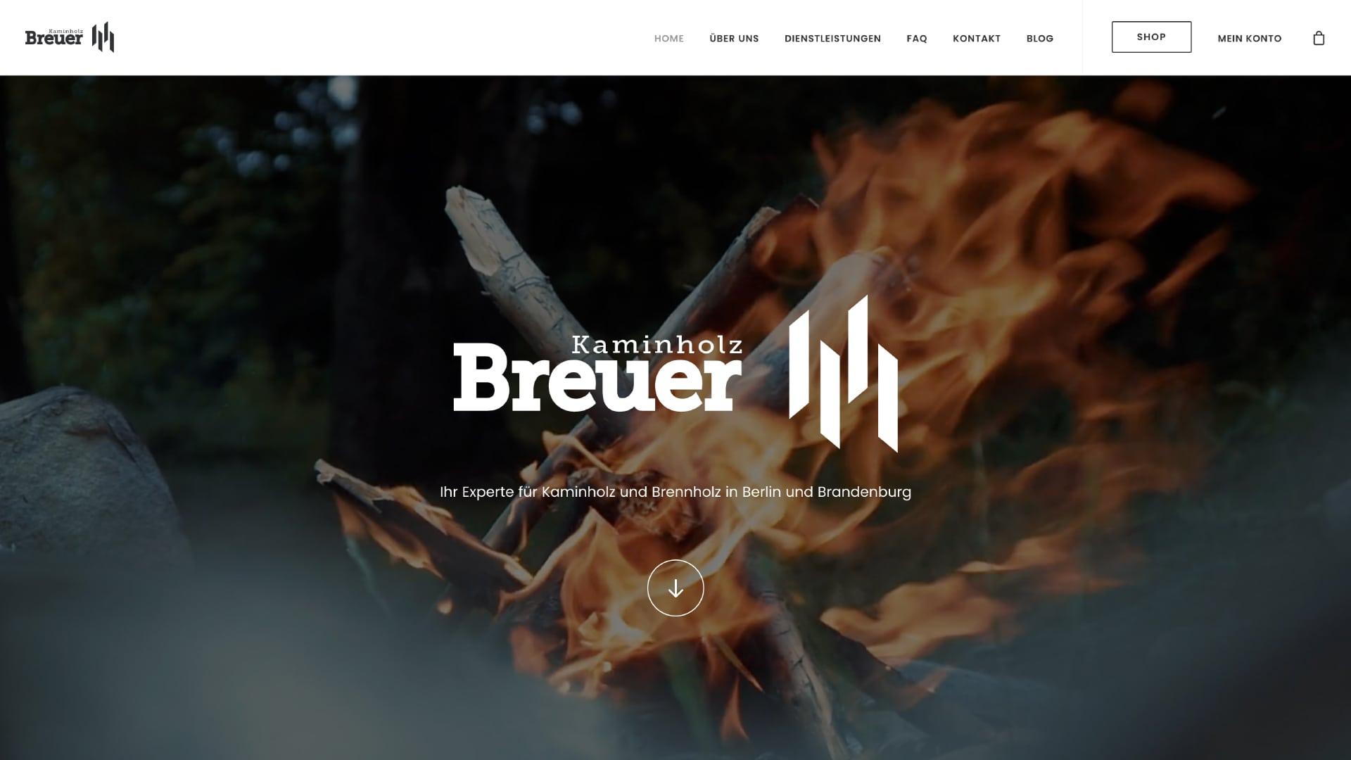 DEONT | Portfolio | Kaminholz Breuer